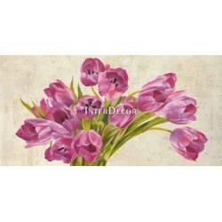 Růžové tulipány 4