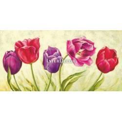 Obraz tulipánů