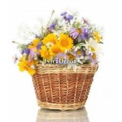 Květy v košíku