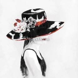 Žena v klobouku 1