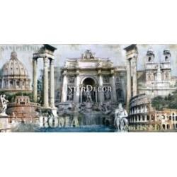 Řím koláž, Giampaolo Pasi