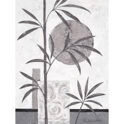 Černo - stříbrný bamus 1