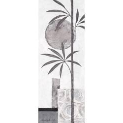 Černo - stříbrný bambus 2