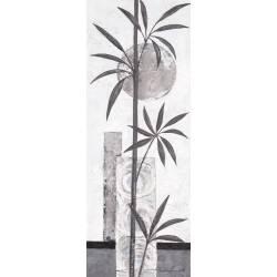 Černo - stříbrný bambus 3