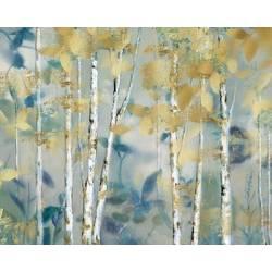 Pozlacený les I