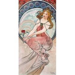 La peinture -  Alphonse Mucha