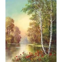 Léto u rybníka II