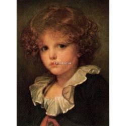Portrét chlapce 1, obraz na desce