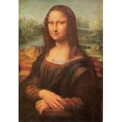 La Gioconda, obraz na desce