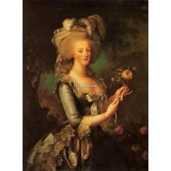 Maria Antonietta, obraz na desce