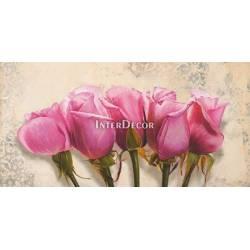 Růžové tulipány 3