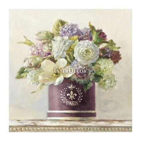 Obrazy zátiší s květinami