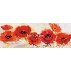 Červené květy 7