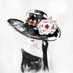 Žena v klobouku 2