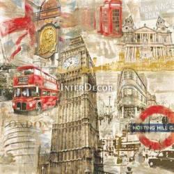Koláž londýn
