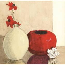 Zátiší s vázy