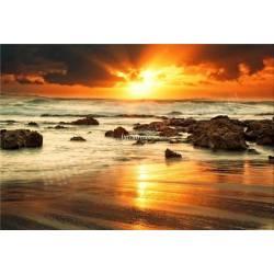 Moře v západu slunce