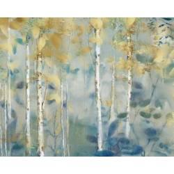 Pozlacený les II