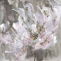 Malovaný abstraktní květ