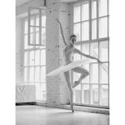 Baletka při tanci