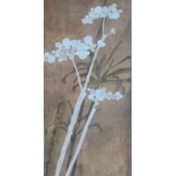 Bronzové květy I