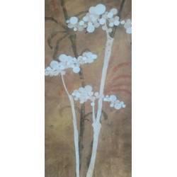 Bronzové květy II