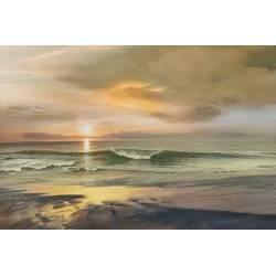 Západ slunce nad mořem II
