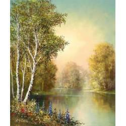 Léto u rybníka I