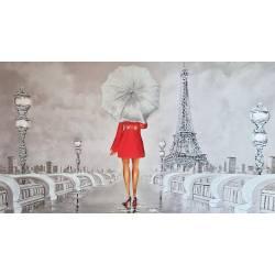 Žena v paříži