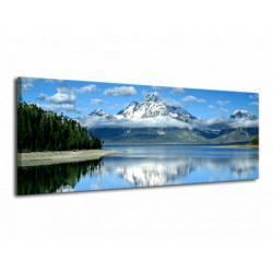 Obraz horské jezero