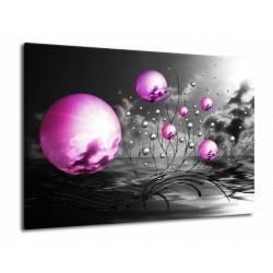 Obraz fialové koule
