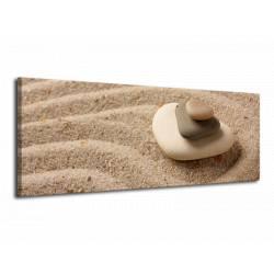 Obraz Kameny v písku