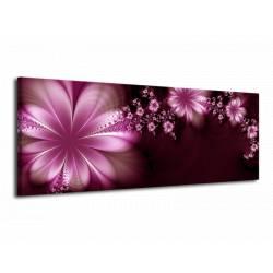 Obraz fialové abstra