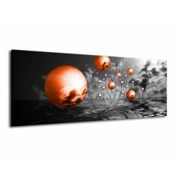 Obraz oranžové koule