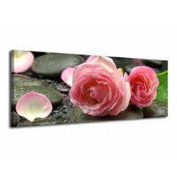 Obraz Kameny s květy 1