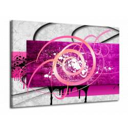 Růžový abstrakt