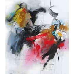 Abstraktní obraz I