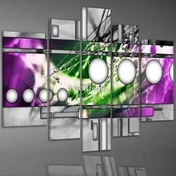 Barevný abstrakt obraz