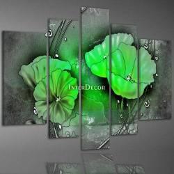 Obraz zelené máky