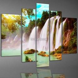 Vodopády pět dílů obrazu